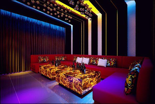 Bọc ghế karaoke tphcm