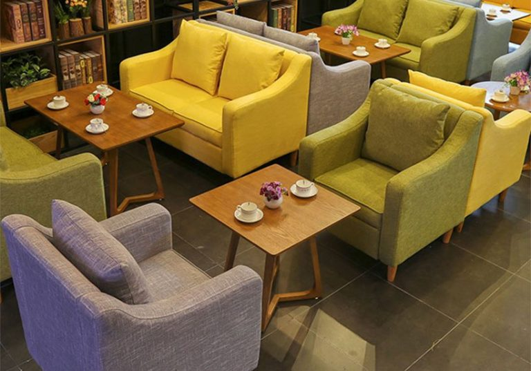 Bọc mua ghế sofa cafe